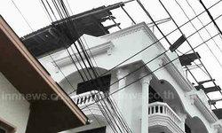พายุงวงช้างหมุนถล่มตราด-บ้านเสียหาย50หลัง