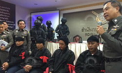 """รวบ 5 ชายชุดดำ ก่อเหตุใช้อาวุธสงครามช่วงชุมนุมนปช.ปี 53 เชื่อมโยง """"เปิ้ล กริชสุดา"""""""