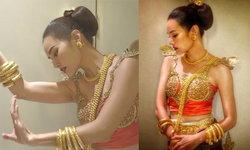 หญิง รฐา โชว์ความสวยแบบไทย