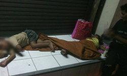 สลด! ลูกสาวหนี ทิ้ง 3 ตาหลานนอนข้างถนน