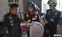 เด็กน้อยพม่า 7 เดือนถูกทิ้งลำพังในห้อง ไร้วี่แววพ่อแม่