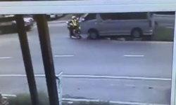 คลิปรถตู้เมาซิ่งชนตำรวจภูเก็ตดับ ขณะปฏิบัติหน้าที่