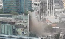 ไฟไหม้ เทอร์มินอล 21 แยกอโศก ปิดห้างไว้ชั่วคราว