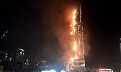ดูไบระทึก! ไฟไหม้โรงแรมหรู ใกล้เบิร์จคาลิฟา