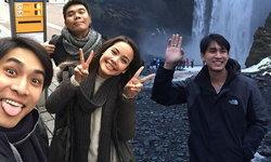 ชีวิตดี๊ดี! หมอก้อง เที่ยวไอซ์แลนด์ดูแสงเหนือ บุกบ้าน ญาญ่า ที่นอร์เวย์