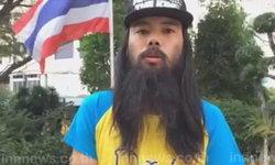 หนุ่มเดินทางทั่วไทย รวบรวมข้อความถวายในหลวง
