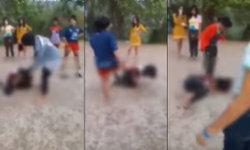 เด็กหญิงวัย 14 โดนแก๊งสาววัยรุ่นตบตี เหตุเพราะไม่ยอมขายตัว