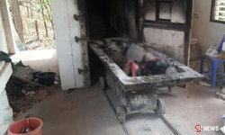 ผงะ พบชิ้นส่วนมนุษย์ปริศนาในเมรุ ที่แท้โรงพยาบาลนำมาเผา