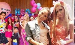 """ปาร์ตี้วันเกิด """"ซาร่า คาซิงกีนี"""" ธีมบาร์บี้ สวยเป๊ะเหมือนตุ๊กตา"""