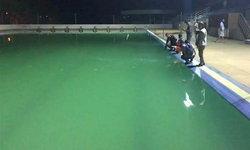 สารเคมีรั่วในสระว่ายน้ำ หามเด็กส่ง รพ. นับสิบราย