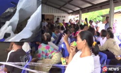 ชาวบ้านนับพันผวาติดเชื้อ หลังซื้อเนื้อวัวถูกหมาบ้ากัดมากิน