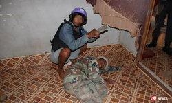 ทำแผนระทึก หนุ่มเมากาวฆ่าตัดหัวแม่-เพื่อนบ้าน สยอง 2 ศพ