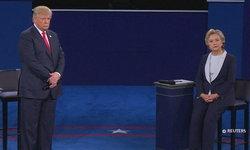 """เผ็ดร้อน! """"ฮิลลารี"""" VS """"ทรัมป์"""" โต้ประเด็นเด็ดคลิปดูถูกผู้หญิง"""