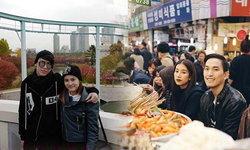 2 คู่ชื่นมื่น มาร์กี้ มิ้นต์ ชาลิดา ควงหนุ่มรู้ใจเที่ยวเกาหลี