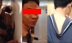 สาวใจเด็ด จับหนุ่มโรคจิตแอบถ่ายในห้องน้ำหญิงคาหนังคาเขา