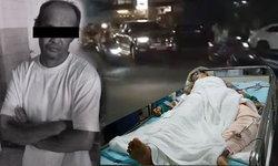 เผยคลิปนาทีชีวิต  ลุงเมาซิ่งชนรถชาวบ้าน อัดก็อปปีั นศ.อาการสาหัสอาจต้องตัดขา