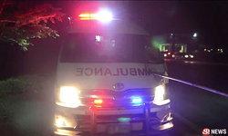 รถพยาบาลพุ่งชนคนข้ามถนนดับคาที่ คนป่วยในรถเจ็บหนัก