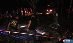 หนุ่มนอนเฝ้าสวนให้แม่ ถูกฆ่าโหดยิง 3 นัด ก่อนจุดไฟเผาร่าง