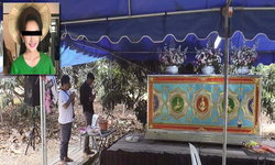 บรรยากาศสุดเศร้า! งานศพอดีตผู้ประกวดนางนพมาศ เหยื่อเก๋งเมาแล้วขับ ลากร่างไปกว่า 1 กม.