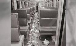 ขยะเกลื่อนขบวน การรถไฟวอนช่วยรักษาความสะอาด