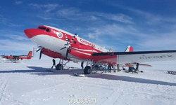 สำเร็จ! เครื่องบินปีกคงที่ของจีนลงจอดครั้งแรกในขั้วโลกใต้