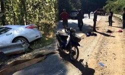 ผู้ว่าฯแม่ฮ่องสอน สั่งฟ้องผู้รับเหมา ซ่อมถนนไม่ติดป้ายเตือนทำชาวบ้านเสียชีวิต