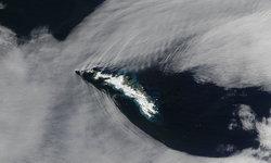 นาซ่าแชร์ภาพเมฆมุมสามเหลี่ยม ปรากฏการณ์ที่หาดูไม่ง่าย