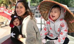 น้องปริม ยิ้มหวานเที่ยวฮ่องกง เบนซ์-มิค อุ้มลูกไปไหว้ขอน้อง