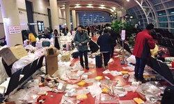 สยอง! นักท่องเที่ยวจีนทิ้งขยะเกลื่อนสนามบินเกาหลี