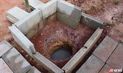 ฮือฮา น้ำผุดกลางบ้าน ชาวบ้านจะขอตักเชื่อเป็นน้ำทิพย์