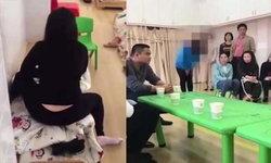 ครูจีนโหด! นั่งทับตัว ตบตีเด็ก หลังไม่ยอมนอนกลางวัน