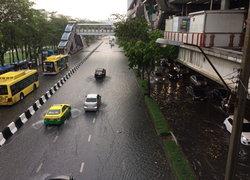 สำนักระบายน้ำแจ้งกรุงเทพฯน้ำท่วม 6 จุด-เร่งระบาย