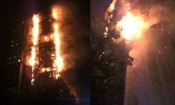 ไฟไหม้อพาร์ทเม้นท์ สูง 27 ชั้น กลางกรุงลอนดอน