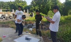 สลด! พบซากศพทารก ถูกเผาในยางรถยนต์ ภายในสุสาน สัปเหร่อเผยเป็นศพเด็กจากหญิงสาวแท้งลูก