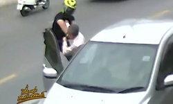 หรือคดีจะพลิก คนขับเก๋งเผยวงจรปิด ยันถูกบิ๊กไบค์ต่อยก่อน