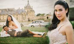 ครี พัสวีพิชญ์ แต่งงานที่ฝรั่งเศส สวมชุดเจ้าสาวแสนสวย
