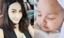 แซนวิช ปภาดา ลงรูปลูกชายครั้งแรก น้องลีอองน่าชังมาก