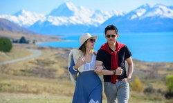 ฟลุค-นาตาลี หลบมุมเที่ยวนิวซีแลนด์ ภาพคู่นึกว่าพรีเวดดิ้ง