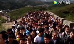 """นิยามคำว่า """"คนเป็นแสน"""" เปิดภาพคลื่นมนุษย์ท่องเที่ยววันชาติจีน"""