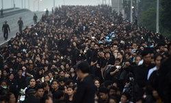ประมวลภาพ ค่ำคืน สู่เช้าตรู่ วันสำคัญของหัวใจคนไทยทั้งประเทศ