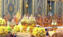 พระราชพิธีบรรจุพระบรมราชสรีรางคาร ณ วัดราชบพิธฯ-วัดบวรฯ
