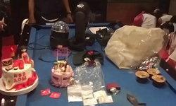 ตำรวจบุกทลายปาร์ตี้ยาอี จับ 55 คน ของกลางอื้อ