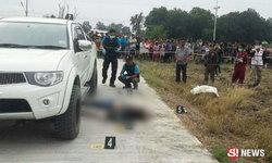 พิษรักขม หนุ่มหึงโหดยิงปลิดชีวิตเมียสาว หนีไปผูกคอตายตาม