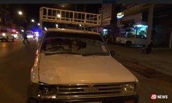 อุบัติเหตุซ้ำซ้อน ปู่วัย 71 ซิ่งฝ่าไฟฉุกเฉิน ชนตำรวจตายในหน้าที่
