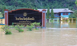 น้ำท่วมใต้วิกฤติ! สั่งปิด 156 โรงเรียน