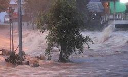 น้ำป่านครศรีฯทะลักอีกระลอก ชาวบ้านเร่งอพยพ