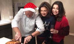 ครอบครัวสุขสันต์ แอน สิเรียม พร้อมหน้าสามีและลูกสาว