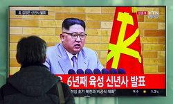 """สุนทรพจน์ปีใหม่ของคิมจองอึน """"ปุ่มยิงนิวเคลียร์อยู่บนโต๊ะผมเสมอ"""""""