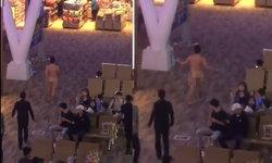หนุ่มต่างชาติกินยาปลุกเซ็กซ์ ร้อนรุ่มแก้ผ้าเดินกลางสนามบินภูเก็ต