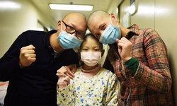 รักยิ่งใหญ่ พ่อแม่โกนหัวเป็นเพื่อนลูกสาวป่วยลูคีเมีย
